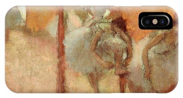 19th Century iPhone Case - Dancers by Edgar Degas
