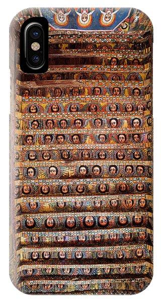 East Africa iPhone Case - Debre Berhan Selassie Church In Gonder by Martin Zwick