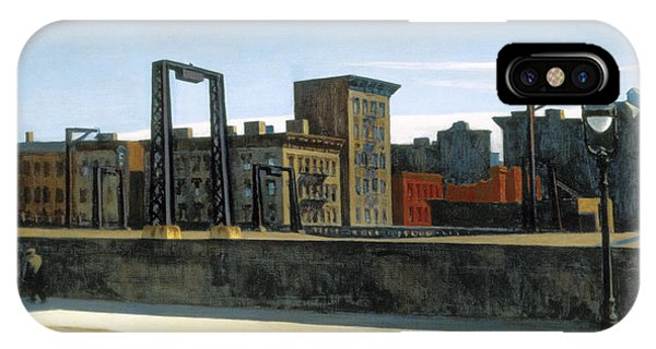 Manhattan Bridge Loop IPhone Case
