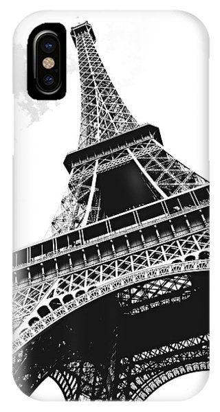 Paris iPhone Case - Eiffel Tower by Elena Elisseeva