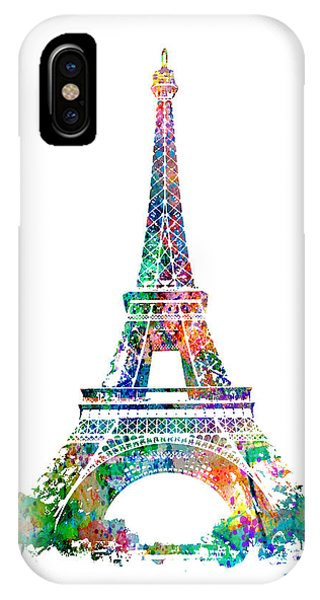 Eiffel Tower Paris France 1889 IPhone Case