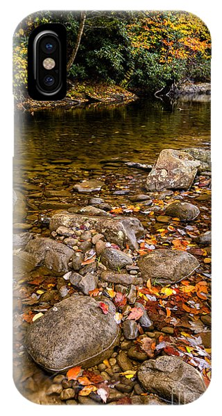 Fall Color Gauley River IPhone Case