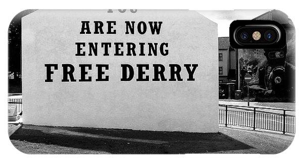 Free Derry Corner 5 IPhone Case