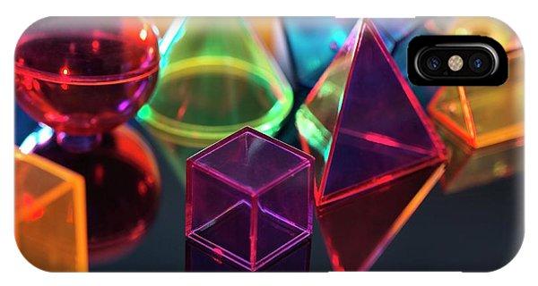 Geometric Shapes Phone Case by Tek Image