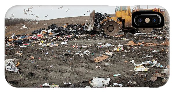 Landfill Site Phone Case by Jim West