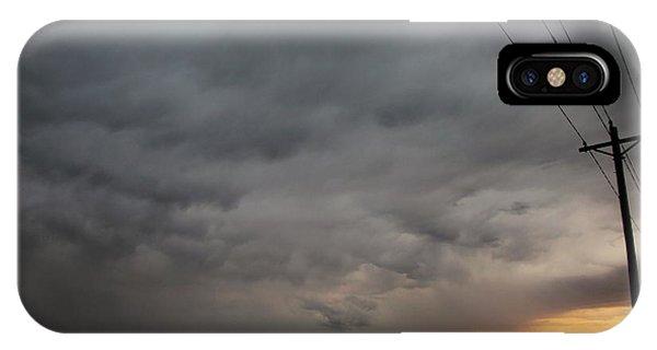 Let The Storm Season Begin IPhone Case