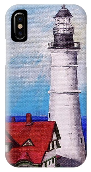 Lighthouse Hill IPhone Case