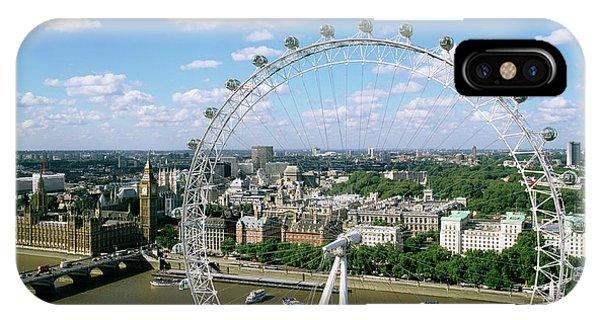London Eye iPhone Case - London Eye by Mark Thomas/science Photo Library