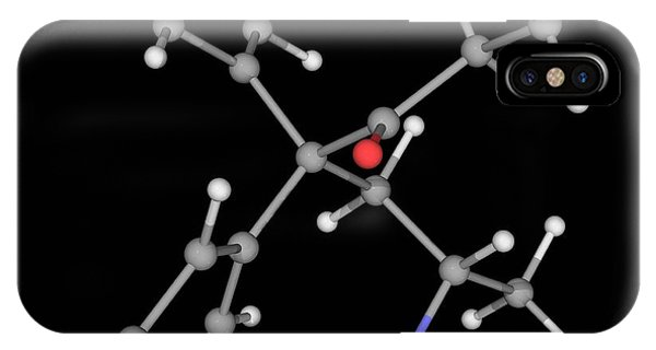 Methadone Drug Molecule Phone Case by Laguna Design/science Photo Library