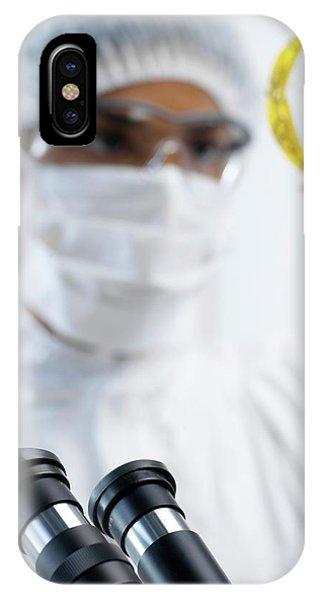 Microbiology Phone Case by Tek Image