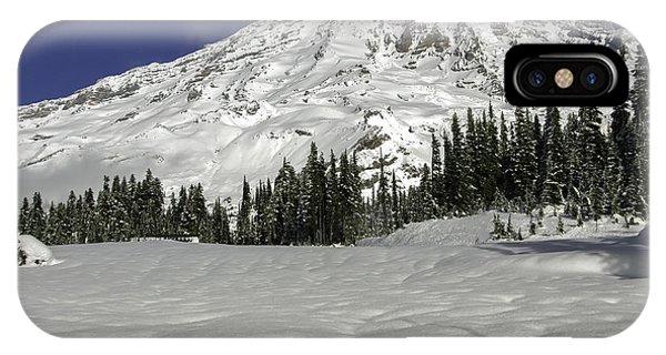 Mount Rainier From Paradise IPhone Case