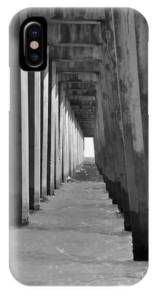 Pensacola Beach Pier IPhone Case