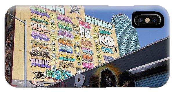 5 Pointz Graffiti Art 2 IPhone Case