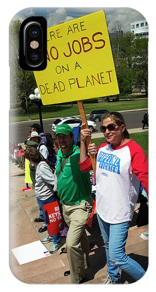 Protest Against Keystone Xl Pipeline Phone Case by Jim West