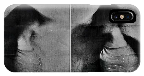 Motion Blur iPhone Case - Shadows by Dalibor Davidovic