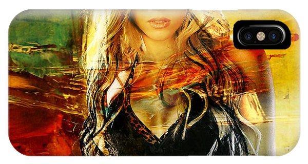 Shakira iPhone Case - Shakira by Marvin Blaine