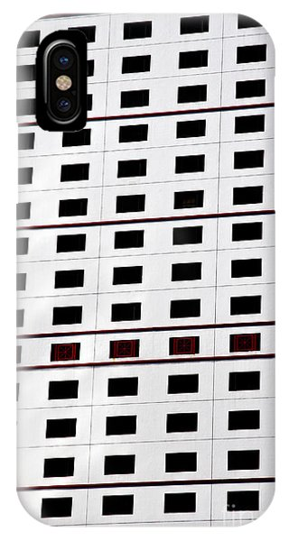 skyscraper windows background in Hong Kong  Phone Case by IB Photography