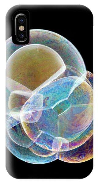 Soap Bubbles Phone Case by Lawrence Lawry