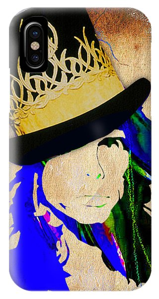 Steven Tyler iPhone Case - Steven Tyler Collection by Marvin Blaine