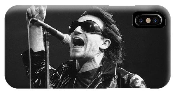 U2 - Bono IPhone Case
