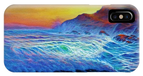 After The Sunset IPhone Case