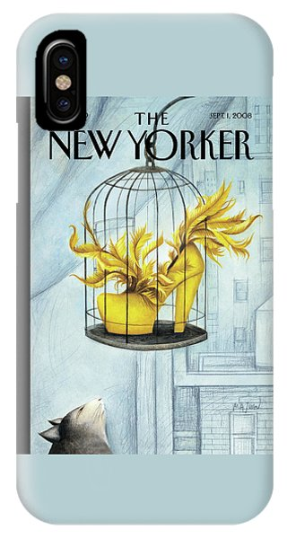New Yorker September 1st, 2008 IPhone Case