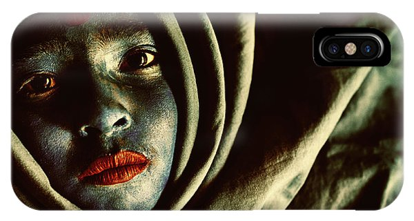 Faces iPhone Case - Untitled by Miki Meir Levi