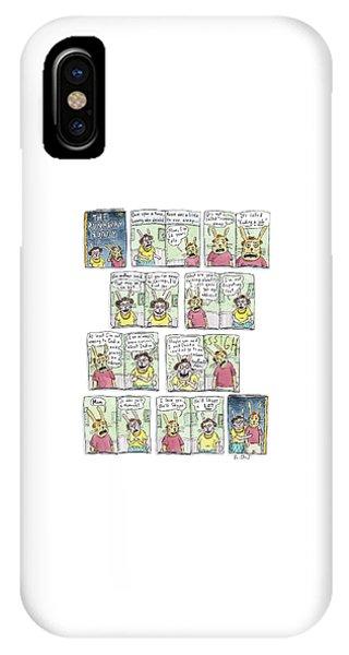 The Runaway Bunny IPhone Case