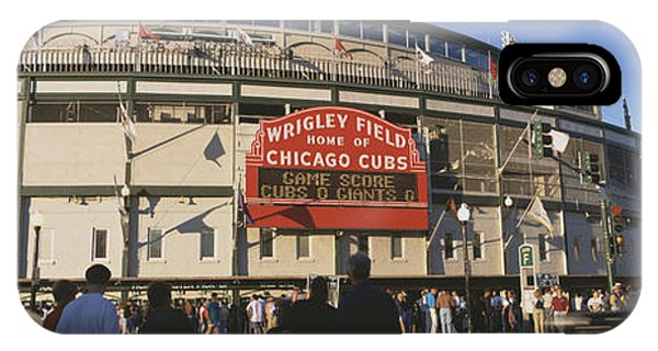 Usa, Illinois, Chicago, Cubs, Baseball IPhone Case