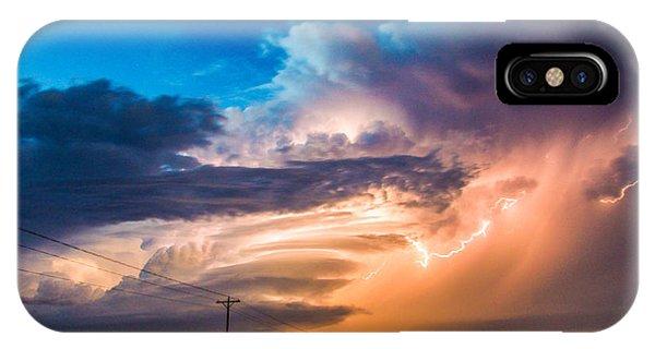 Wicked Good Nebraska Supercell IPhone Case