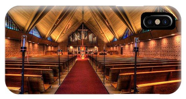 Woodlake Lutheran Church IPhone Case