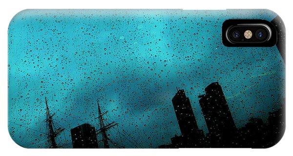 Teal iPhone Case - #502 by Tatsuo Suzuki