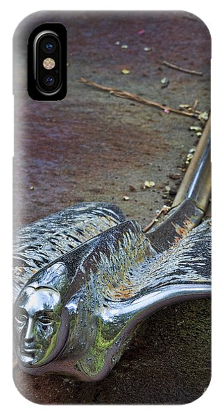 50s Cadillac Hood Ornament #2 IPhone Case