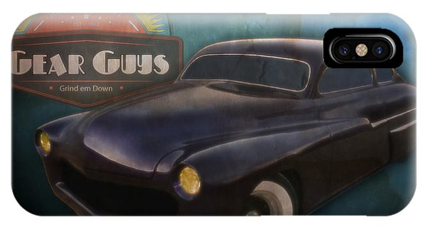 51 Mercury Gear Guys Car Club Alice Springs Nt IPhone Case