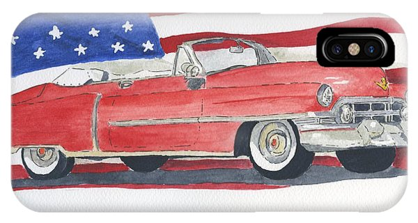 52 Cadillac Convertible IPhone Case