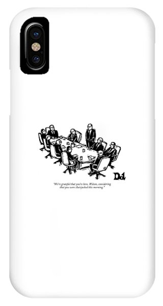 We're Grateful That You're Here IPhone Case