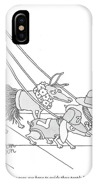Somehow, Some Way, We Have To Guide These People IPhone Case