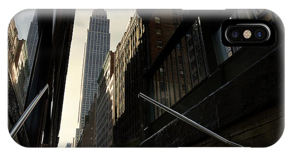 Building iPhone Case - 53th Avenue by Sebastien Del Grosso