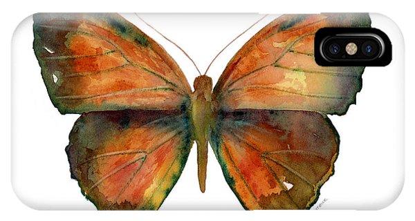 56 Copper Jewel Butterfly IPhone Case