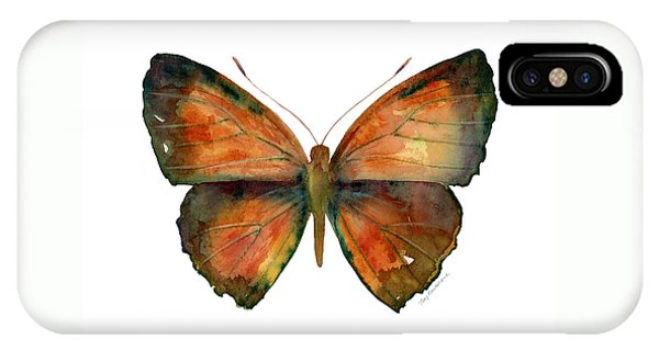 56 Copper Jewel Butterfly IPhone Case