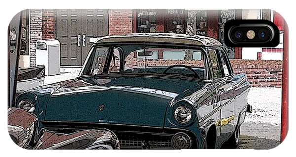56 Ford Art01 IPhone Case