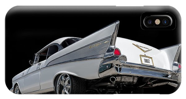 Vintage iPhone Case - '57 Bel Air by Douglas Pittman