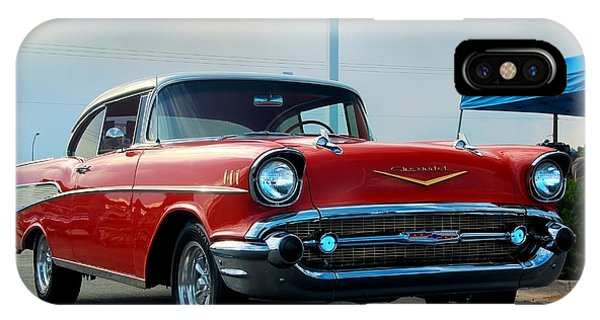 57 Chevy Bel-aire Phone Case by Don Durante Jr
