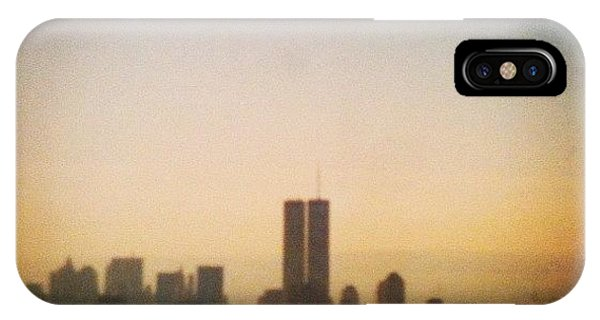 City Scape iPhone Case - New York by Rhian Norman