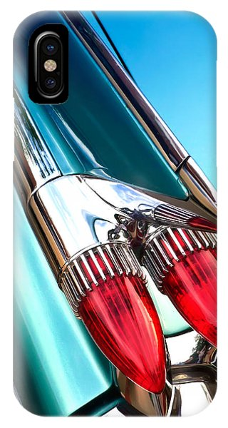 '59  Caddy Tail Fins IPhone Case
