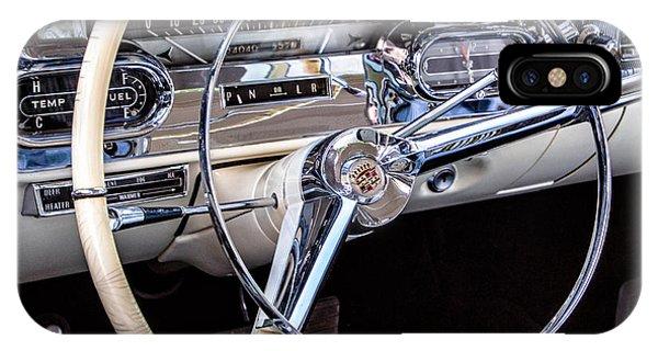 58 Cadillac Dashboard IPhone Case