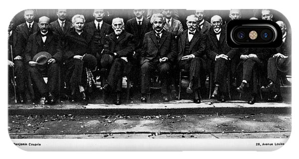 5th Solvay Conference Of 1927 IPhone Case