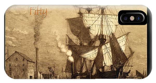 Port Orange iPhone Case - A Pirate Looks At Fifty by John Stephens