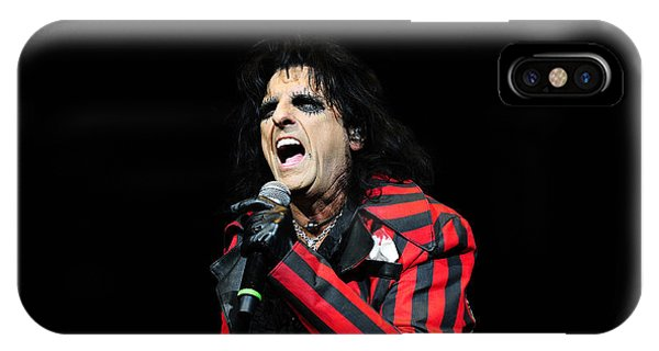 Alice Cooper iPhone Case - Alice Cooper by Jenny Potter
