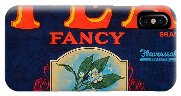 Antique Food Packaging Label. Phone Case by Robert Birkenes